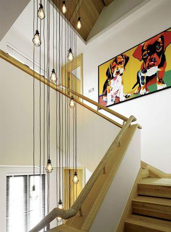 富裕型140平米复式混搭风格楼梯图片大全
