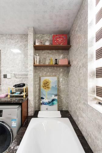 130平米四室两厅美式风格卫生间图