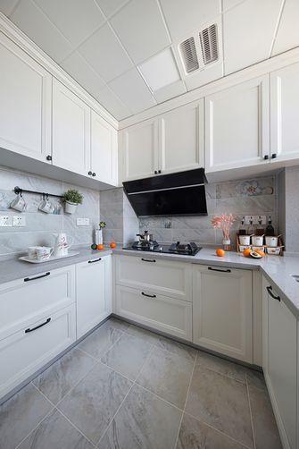 120平米三室两厅美式风格厨房装修效果图