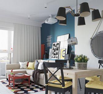 50平米一居室宜家风格客厅装修案例