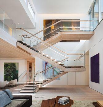 80平米复式混搭风格楼梯间装修图片大全