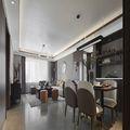 110平米三室三厅中式风格客厅设计图