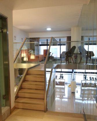 豪华型140平米复式现代简约风格楼梯装修案例