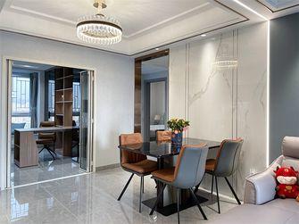130平米三室两厅现代简约风格餐厅图