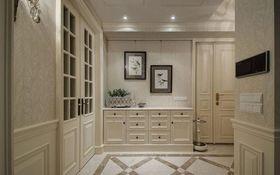 富裕型140平米三室兩廳歐式風格客廳圖片大全