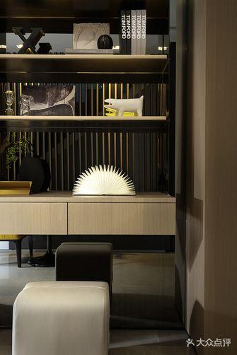 90平米三室一厅混搭风格书房装修案例