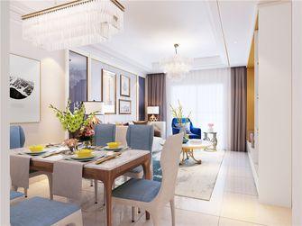 90平米三室两厅混搭风格餐厅设计图
