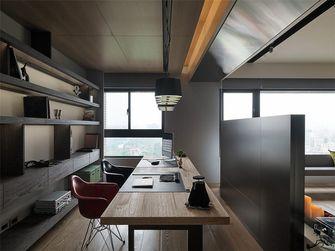 90平米三室两厅日式风格书房效果图