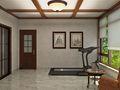 140平米三美式风格健身室效果图
