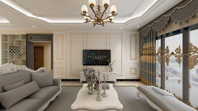 5-10万80平米三欧式风格客厅装修效果图
