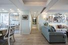 140平米四室两厅田园风格走廊图片