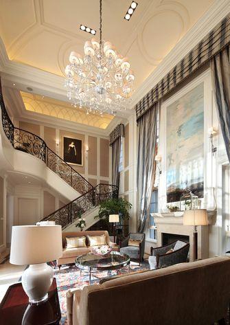 20万以上140平米别墅美式风格楼梯装修图片大全