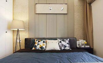 80平米三室一厅现代简约风格卧室图