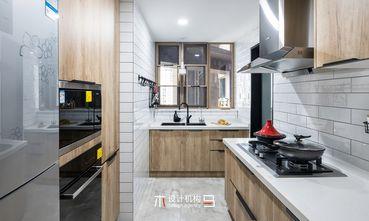 5-10万80平米三室两厅北欧风格厨房图