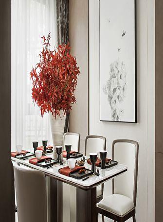 120平米四室一厅中式风格餐厅图