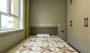 130平米三室三厅混搭风格卧室效果图