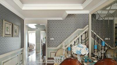 20万以上140平米别墅法式风格楼梯间装修案例