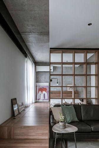 60平米一居室现代简约风格客厅装修效果图