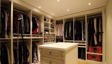 豪华型140平米四室三厅欧式风格衣帽间鞋柜装修效果图