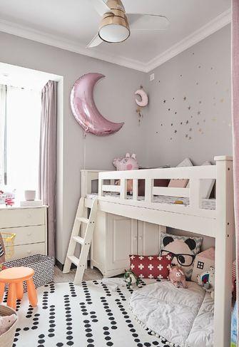70平米三现代简约风格儿童房图片大全
