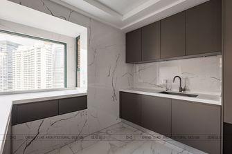 140平米四室三厅现代简约风格厨房装修图片大全