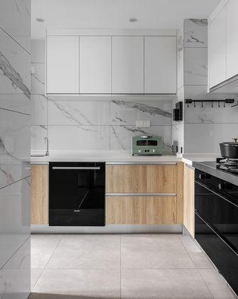 90平米三室一厅日式风格厨房图片