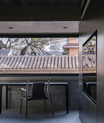 80平米三室两厅欧式风格阳台装修效果图