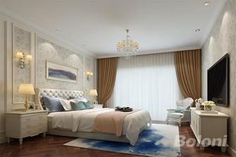 140平米四室三厅法式风格卧室图片大全