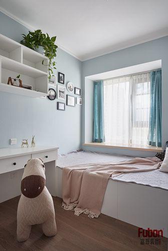 90平米三室两厅英伦风格儿童房图