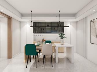 110平米三室一厅北欧风格餐厅装修案例