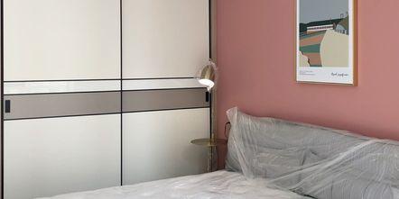 90平米三室一厅宜家风格卧室图片大全