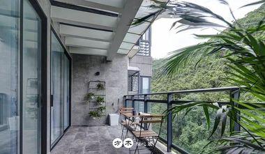 140平米三室两厅现代简约风格阳台图