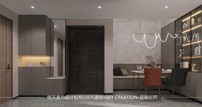 10-15万70平米三室一厅现代简约风格餐厅图