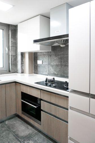80平米三室一厅宜家风格厨房图