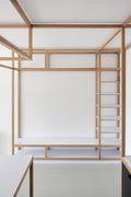 30平米超小户型日式风格书房设计图