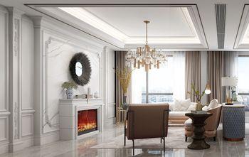 140平米三室两厅美式风格阳光房装修效果图