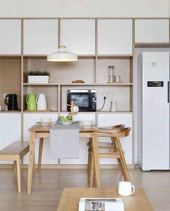 60平米一室两厅宜家风格餐厅装修案例