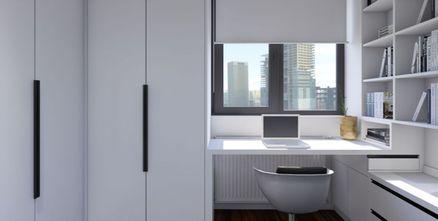 50平米公寓现代简约风格书房效果图