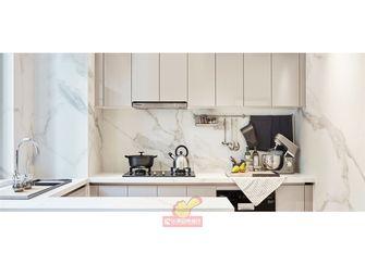 130平米三室两厅现代简约风格厨房装修案例