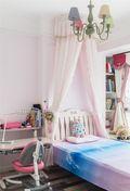 120平米三美式风格儿童房装修案例