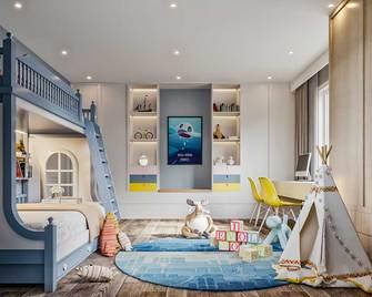 140平米四室一厅北欧风格儿童房装修图片大全