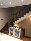 经济型140平米别墅地中海风格楼梯图片