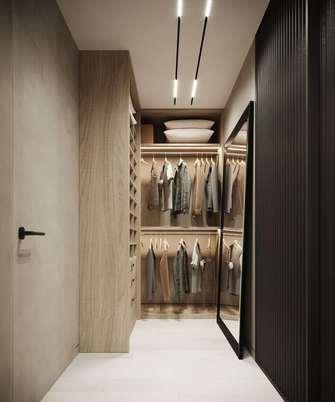 80平米公寓北欧风格储藏室装修效果图