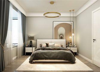 90平米复式现代简约风格卧室装修效果图