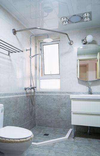 130平米三室两厅北欧风格卫生间装修图片大全