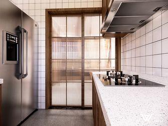 130平米四室两厅日式风格厨房欣赏图