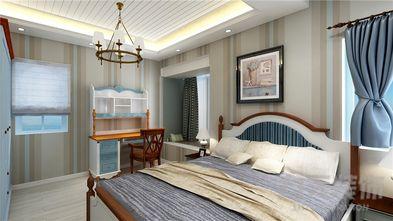 80平米公寓地中海风格卧室装修效果图