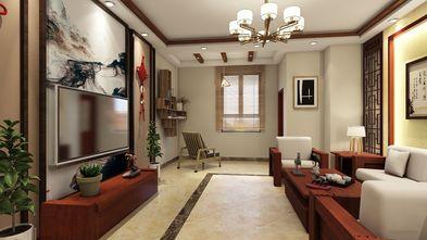 100平米公寓中式风格客厅装修案例