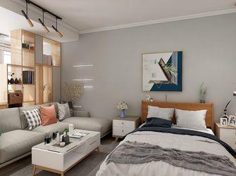 50平米一室一厅宜家风格客厅图片