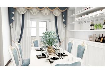 110平米三室一厅地中海风格餐厅图